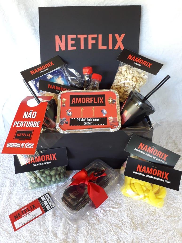 Cesta Netflix versão 2 De R$ 170,00 por R$ 155,00,